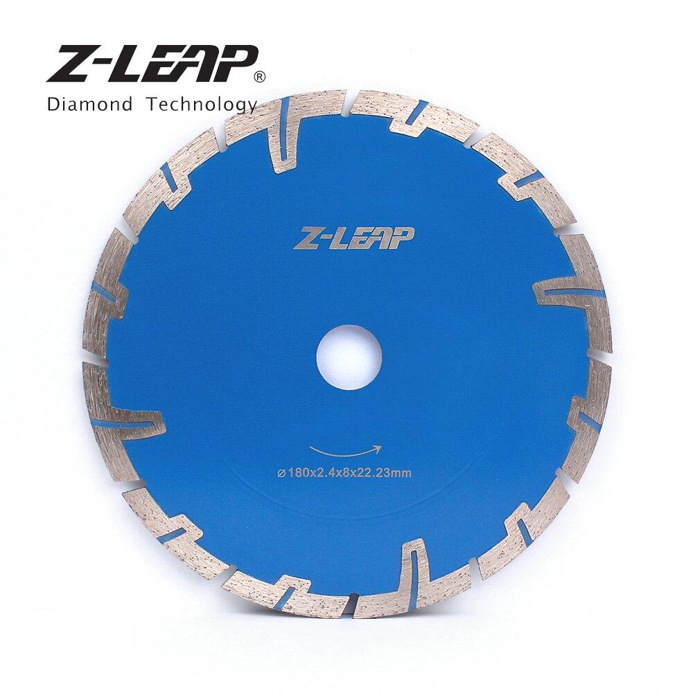 Z LEAP 7inch 180mm Diamond Caw Blade For Cutting Concrete Granite Circular Saw Blade Diamond Grinding Wheels
