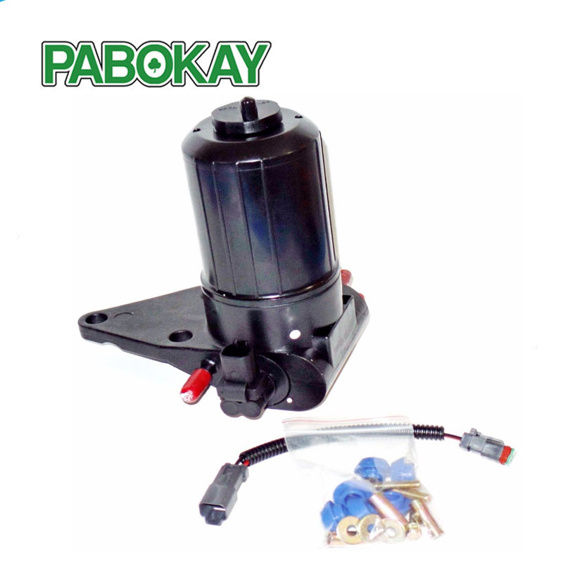ULPK0040 Fuel Pump Assembly for JCB & Massey Ferguson LIFT Fuel Priming OIL PUMP 386-0189 434-2751 299-9265 232-7808