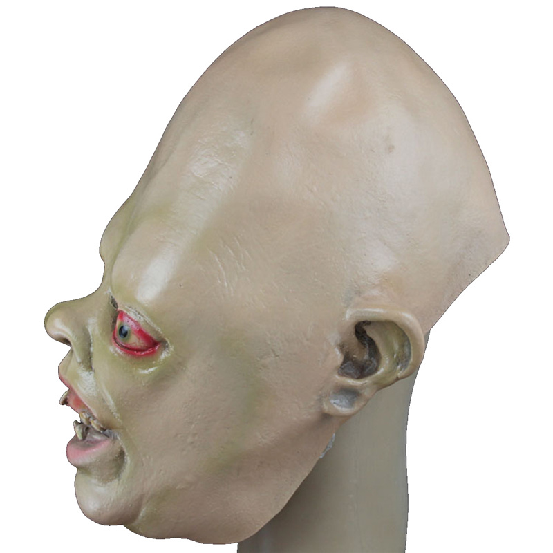 Latex full face head cosplay costume carnival halloween party crazy horror scary mask terror cool masquerade masks supplies