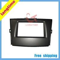 Free shipping--car refitting dvd frame\/front bezel\/dvd panel for BYD M62DIN