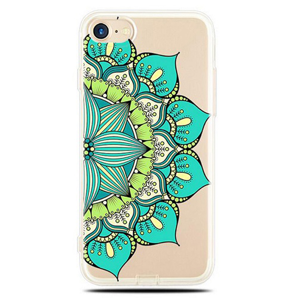Datura-Flower-Pattern-Phone-Cases-for-iPhone-5-5S-SE-6-6S-7-Plus-Soft-Silicon (2) -