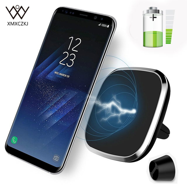 pretty nice bdab1 ec52c US $23.69 21% OFF|Aliexpress.com : Buy New Car Wireless Charger Car Mount  Magnetic Holder For Samsung Note 8 iPhone X 8 8 Plus Wireless Charging Air  ...
