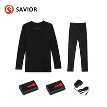 SAVIOR Heated Winter Heating Underwear Electric Intimate Clothes Ski Bike Outdoor Sports Heating Jacket