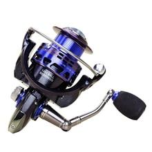 New AS2000-7000 5.2:1 13+1BB discolour Metal Spinning Fishing Reel Carp Bass Sea Fishing Reel Fishing Tackle