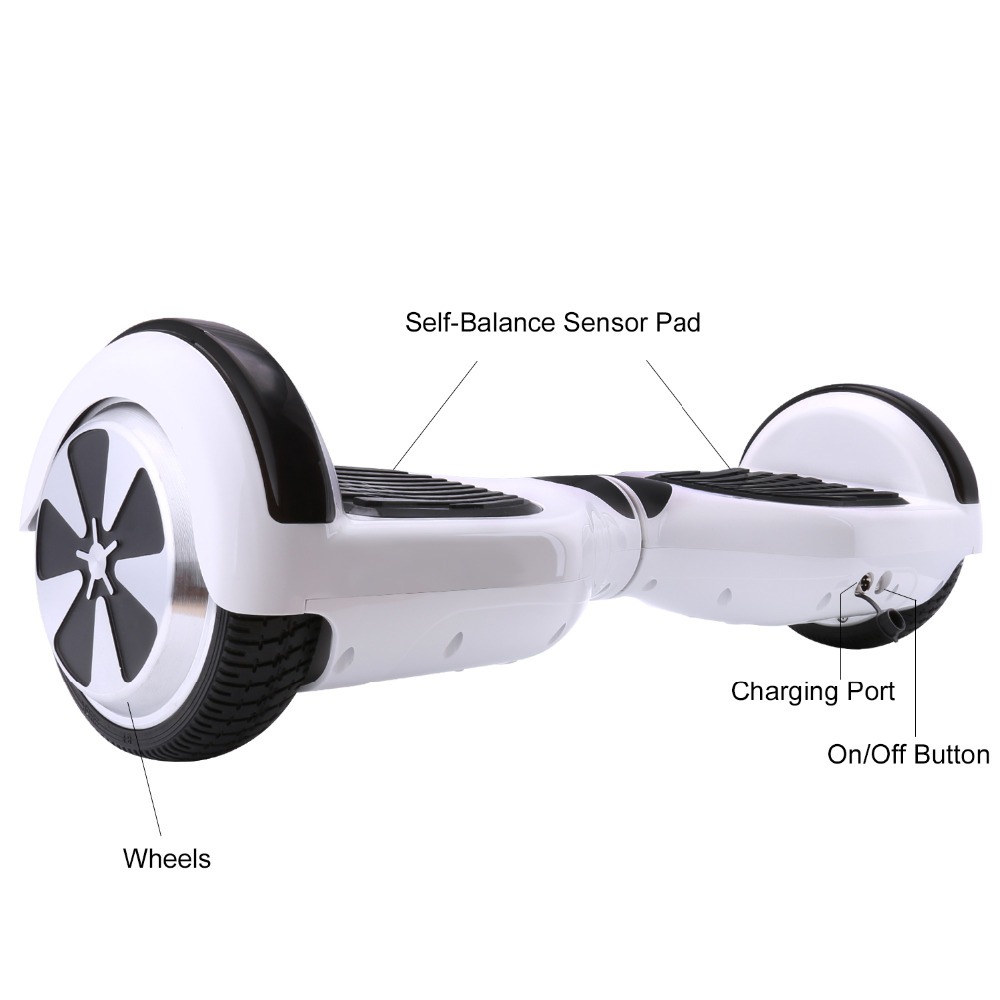 iScooter Self Balancing Hoverboard or two-wheel Skateboard with LED Light 16