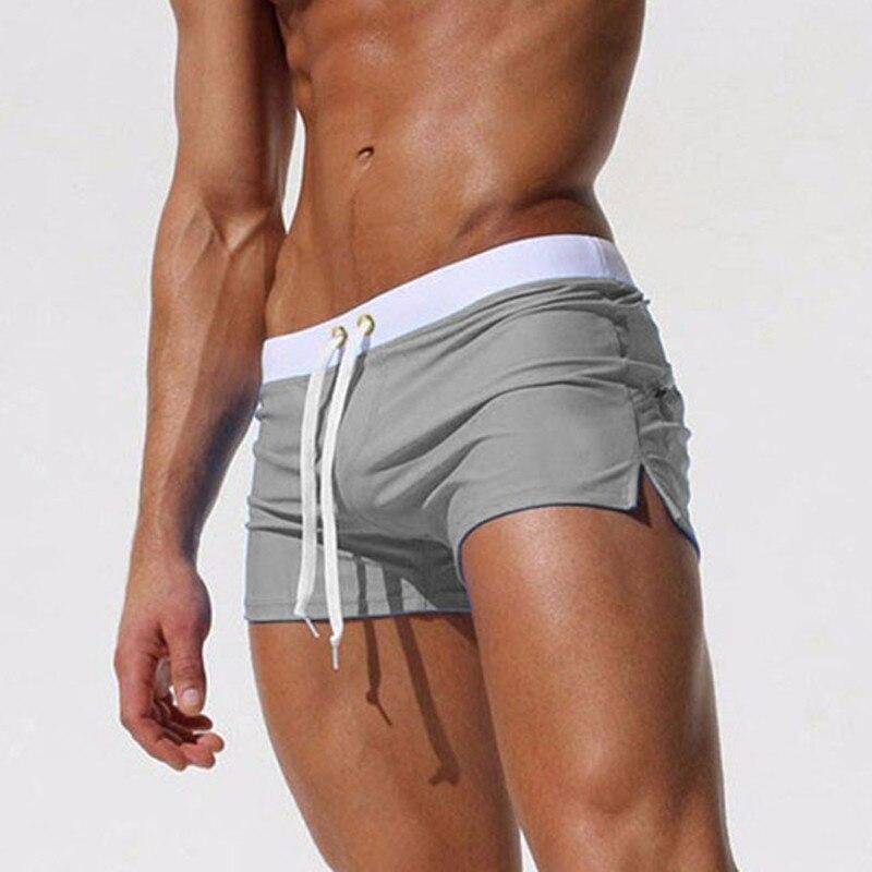 Novos Homens Swimwear Sensuais sunga Sunga maiô quente dos homens nadar cuecas Calções de Praia mayo sungas de praia homens 2018 nova