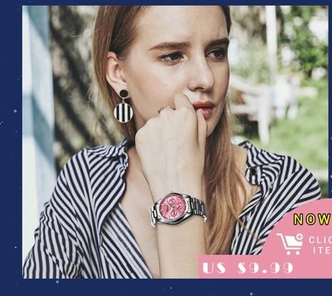 CHENXI Brand Top Luxury Ladies Gold Watch Women Golden Clock Female Women Dress Rhinestone Quartz Waterproof Watches Feminine 3