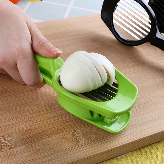 HiLife Stainless Steel Handheld Mushroom Tomato Cutter 5