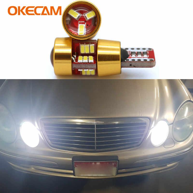 For Mercedes Benz W203 W204 W211 W210 W202 Amg W220 W164 W124 X204 W222 T10  W5W LED Bulb Canbus Car Parking Clearance Lights