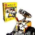 2016 Lepin 16003 Idéia Robô WALL E WALL-E de Blocos de Construção Tijolos Blocos Brinquedos para Crianças Presentes de Aniversário