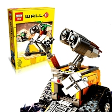 2016 Lepin 16003 Idea Robot WALL E Building Blocks Minifigures Bricks Blocks Toys for Children WALL-E Birthday Gifts