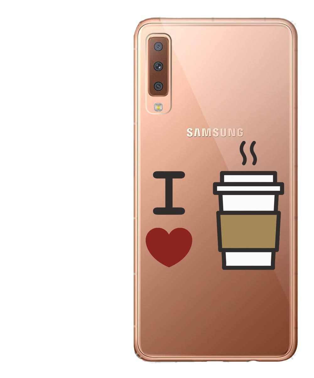 Hoja de plátano flores de encaje Pequeño Príncipe caso suave de silicona cubierta del teléfono para Samsung Galaxy A7 2018 A750 A6 a8Plus 2018