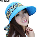 2017 Summer Hats For Women Chapeu Feminino Beach Sun Hats For women New Fashion Outdoors Visors Panama Floppy Girl Cap Sun Hat