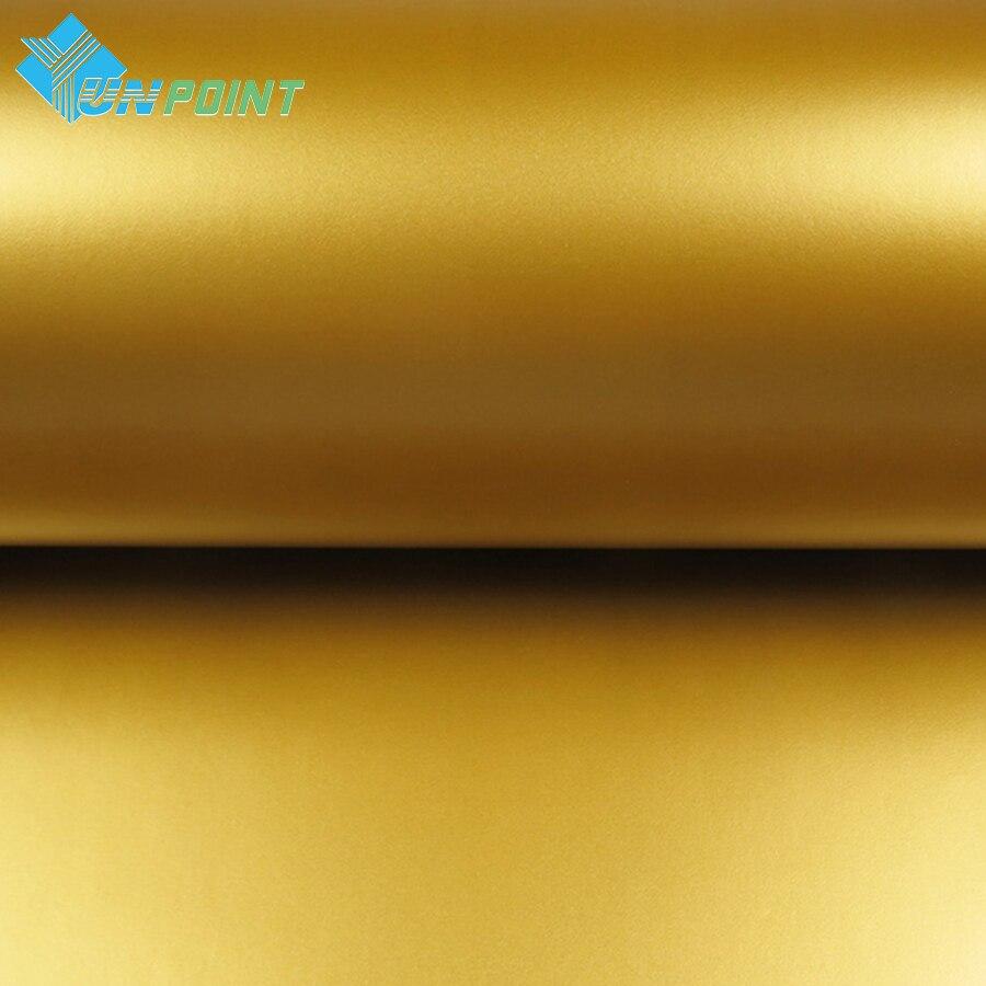 5 Mt Dicke Matte gold selbstklebende PVC Tapete haushaltsgeräte - Wohnkultur - Foto 2