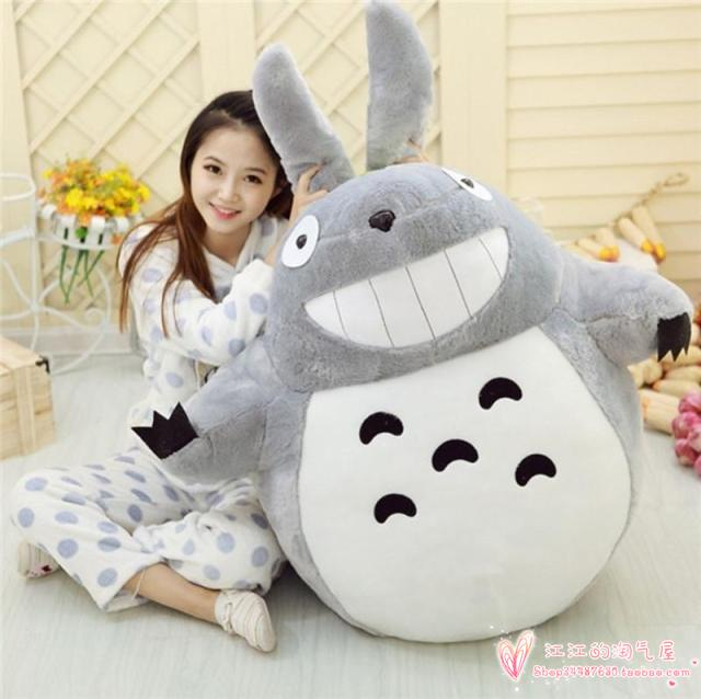 stuffed toy large 95cm cute totoro plush toy soft hugging pillow ,Christmas gift h737 xiaomi mi 5x 32gb rom 4g phablet