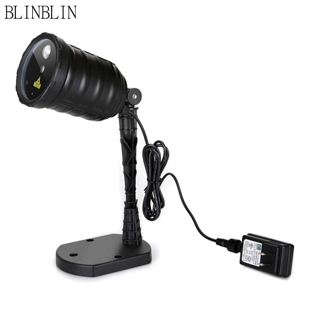Blinblin SanII Projection Lamp IP65 Waterproof Holiday Dynamic Lamp Garden Decoration LED Light IP44 low voltage transformer mipow btl300 creative led light bluetooth aromatherapy flameless candle voice control lamp holiday party decoration gift