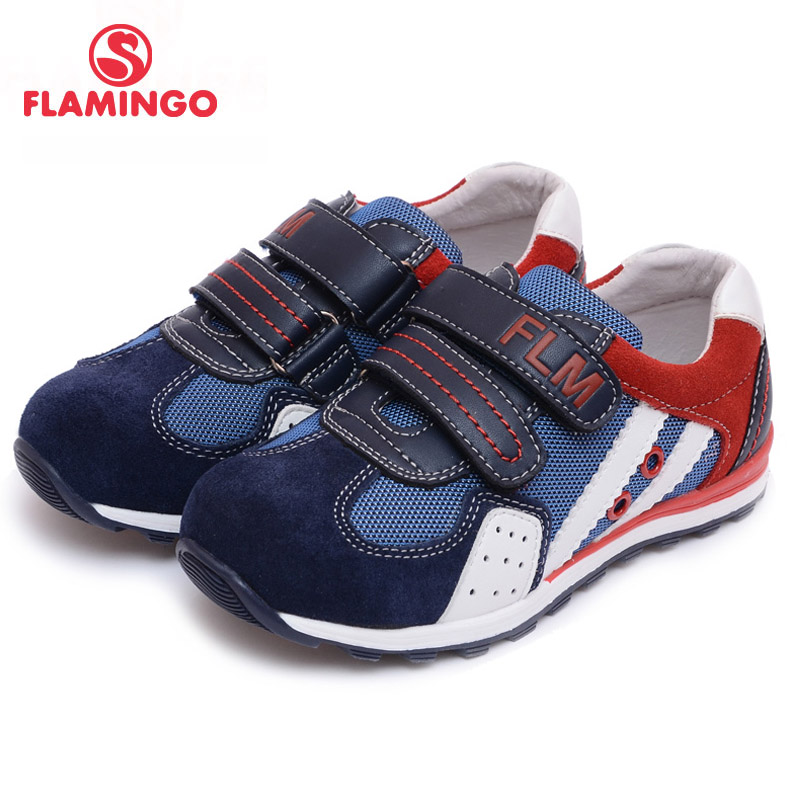 FLAMINGO 100% Russian Famous Brand 2016 New Arrival Spring & Autumn Kids shoes Fashion High Quality children sneakers 61-XP144