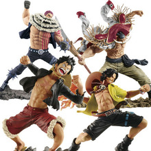 One Piece 20th Anniversary Luffy Ace Action Figure 1/8 scale painted figure SC White Beard Katakuri PVC figure Toys Brinquedos 21cm undead warlock action figure 1 8 scale painted figure windrunner doll pvc acgn figure garage kit toys brinquedos anime