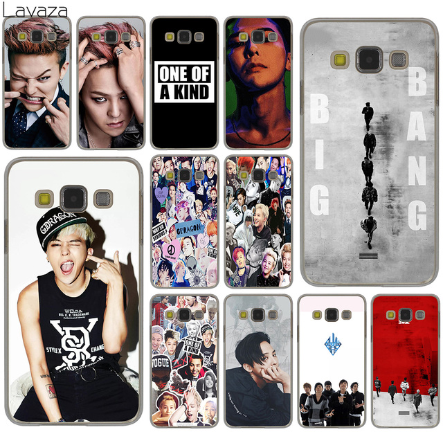Lavaza G-DRAGON BIGBANG GD Kwon Ji Yong funda para Samsung Galaxy S20 Ultra S10 Lite S10E S6 S7 borde S8 S9 más A51 A71 A81 A91