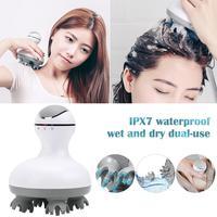 Portable Handheld Electric Scalp Head Massager SPA Muscle Massage Brush Beauty Anti Cellulite Body MassagerHand, Arm, Neck, Foot