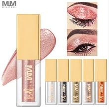 MILEMEI Liquid Eye Shadow Diamond Shining Shadows Waterproof Brilliant Shimmer Glitter Liuid Eyeshadow