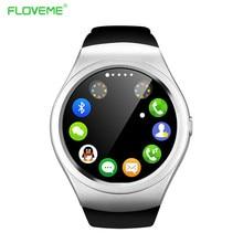 FLOVEME Bluetooth Smart WatchAndroid iOS Tragbare Geräte SmartWatch Fitness Tracker Wearable Geräte reloj inteligente