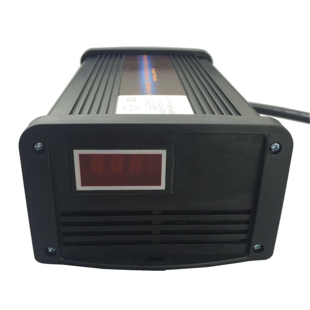 Workstar 48 v 5A Caricabatterie da Auto Caricabatteria MCU Maintainer 7-fase smart Caricatore di Batteria Al Piombo di Garanzia 2 anni