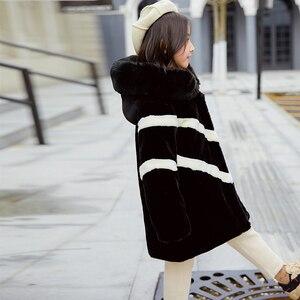 Image 4 - ฤดูหนาวเลียนแบบขนาดใหญ่เสื้อขนสัตว์ 2019 หญิงหนาปุยเสื้อเด็กเสื้อผ้าเด็กกำมะหยี่หนาหนาเสื้อขายส่ง