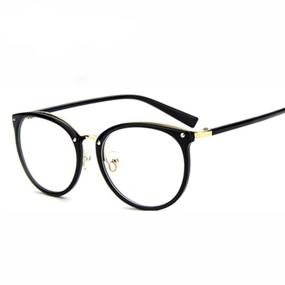 Brand women\'s optical glasses frame women eyeglasses large Metal ...