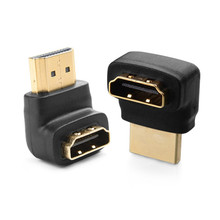 270 Degree HDMI Adapter Male to Female Connectors 90 Degree HDMI Converters Adapter Support Audio Return Channel Converter