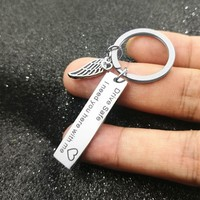 Drive Safe Keychain I Need You Here With Me Gift  4