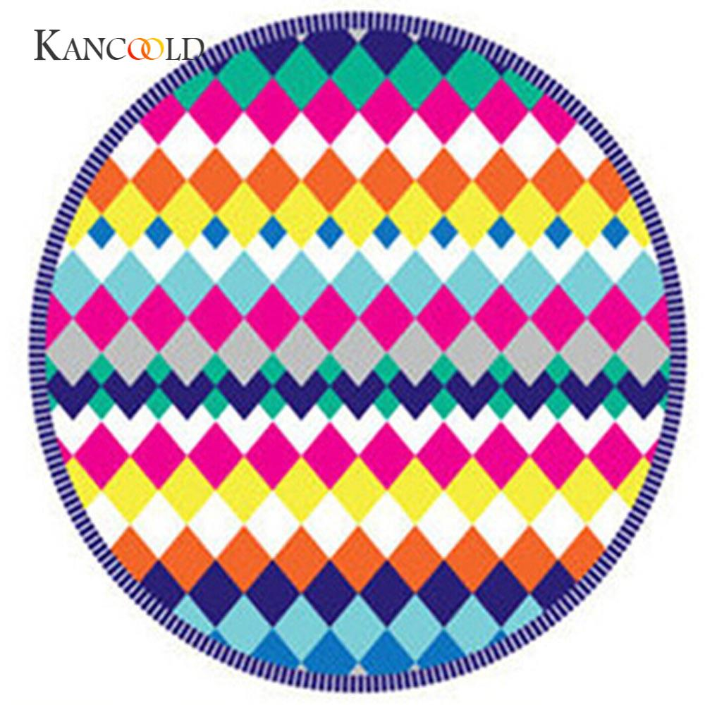 KANCOOLD silk scarf shawl Tapestry Unique Style Round Beach Pool Home Shower Towel Blanket Table Cloth Yoga Mat JAN23