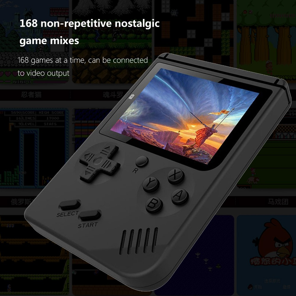 Retro Mini GBA 2 Handheld Game 908 built-in Gameboy Advance Games  Portable Players