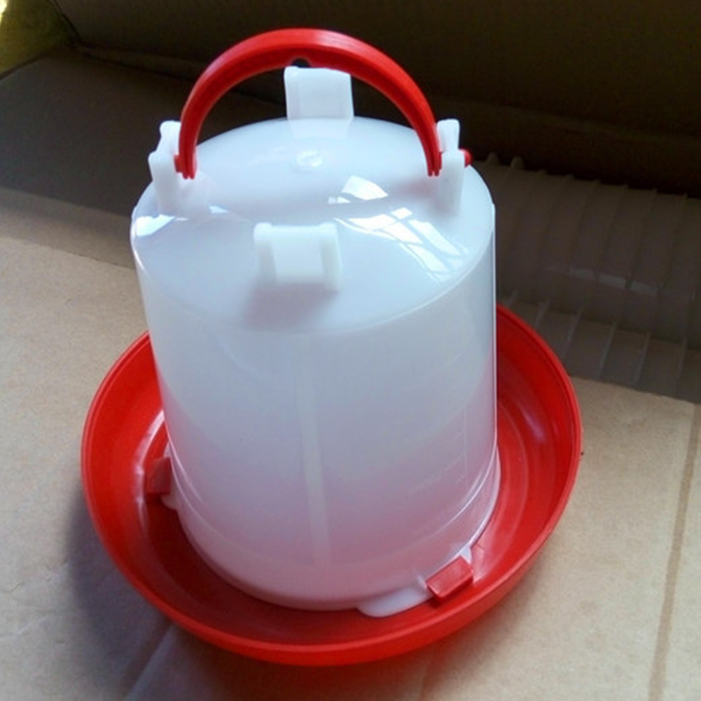 New Hot Sales 1L Plastic Feeder Chicken Hen Poultry Drinker Waterer Feeding And Watering Supplies