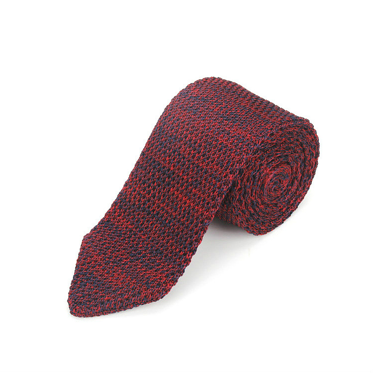 Fashion Men's Necktie Solid Woven Tie Knit Knitted Tie Narrow Slim Skinny For Party Tie