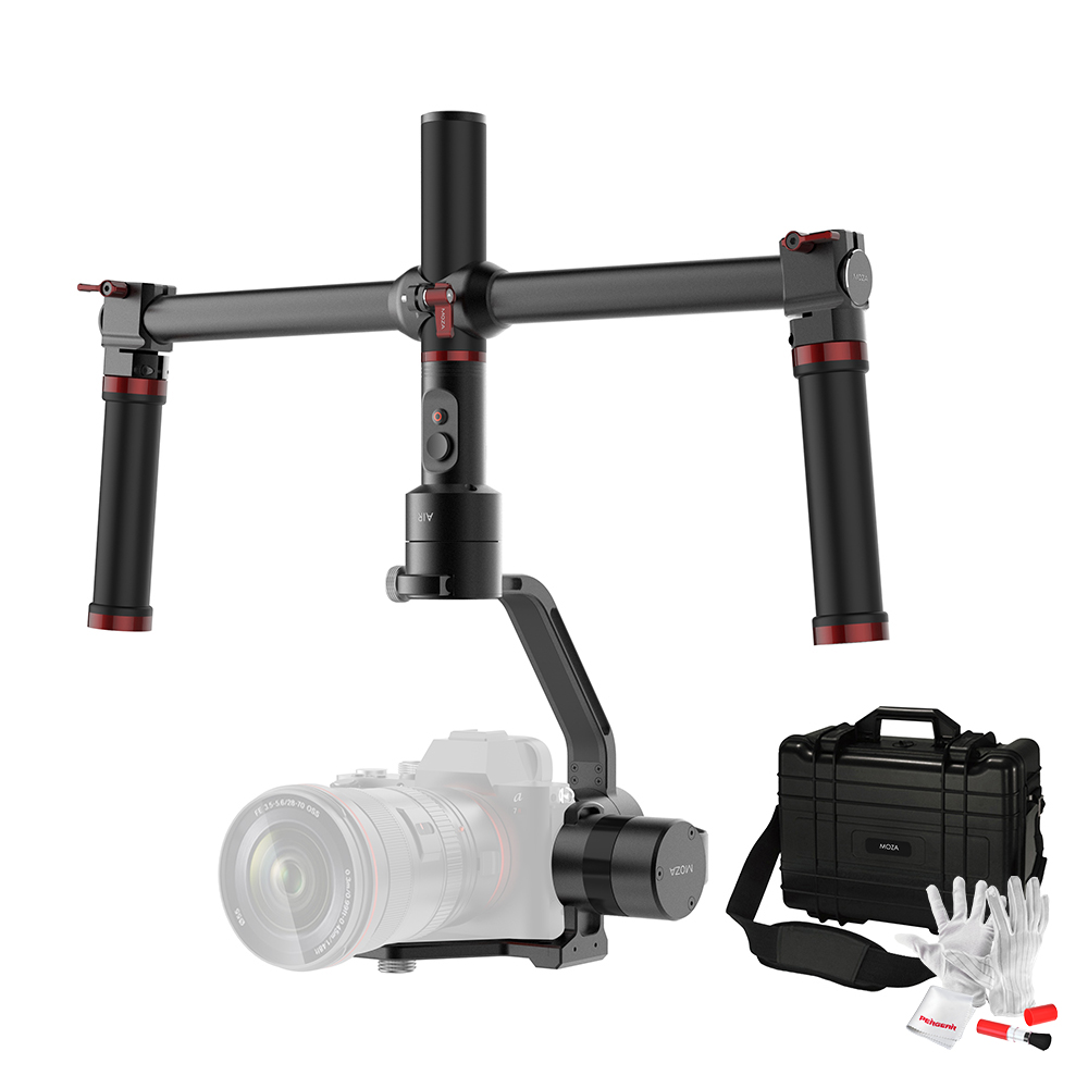 Sale Moza Air 3 Axis Dslr Handheld Gimbal Stabilizer Dual