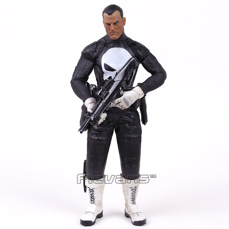 Crazy Toys War Zone Punisher 1/6th Scale Collectible Figure Model Toy 12inch 30cm 30cm crazy toys punisher figure frank castle 16 scale collectible action figure collection model toy 12inch