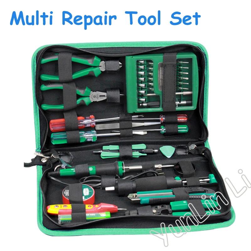 Ensemble d'outils de tournevis multifonctions 52 en 1 pour ordinateur portable Kit d'outils de réparation de téléphone portable