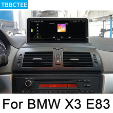 For BMW X3 E83 2004~2010 Idrive Android Car Radio GPS Navigation AUX Stereo multimedia touch screen original style Wifi HD car radio 2 din gps android navigation for bmw x3 e83 2004 2010 idrive aux stereo multimedia touch screen original style