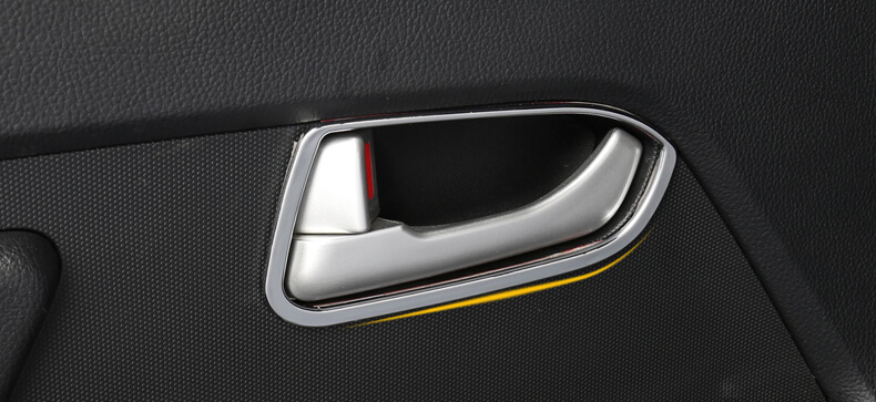 Auto Door Inner Bowl Sticker interiörgjutning för Sportage 2015, 4st