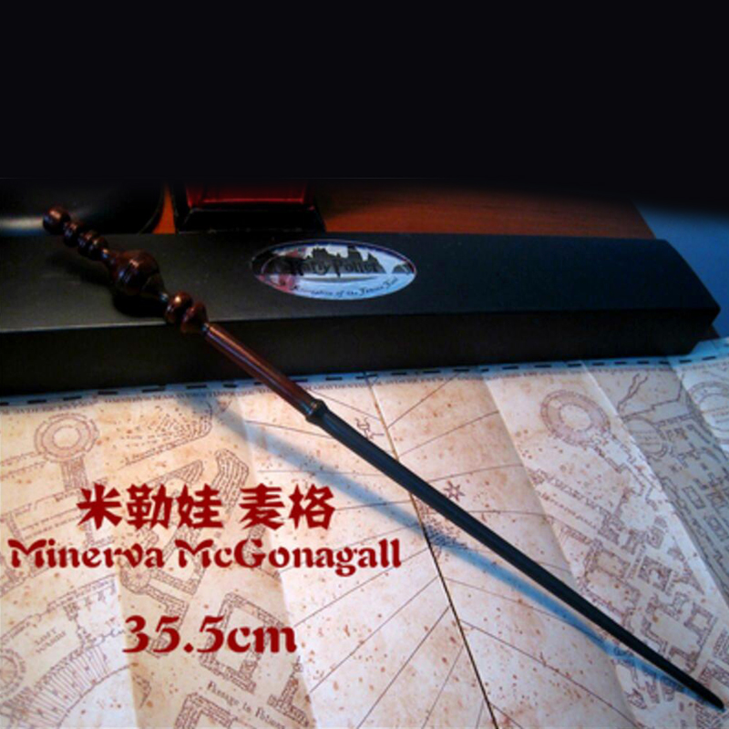 G06-X103 In box children boys birathday Best gift Harry Potter magic wand mini resin staff Minerva McGonagall 1pcs