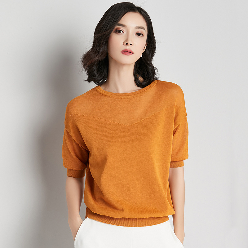 Knitted Pullovers Women 2018 New Summer Batwing Sleeve Stella Filante Loose Jumper Pull Femme Women Girl Tops Thin Sweater