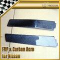 2 pcs/par Para Nissan Skyline R33 GTR GTST Fibra De Carbono B Pilar-Substituição Da Tampa Tipo