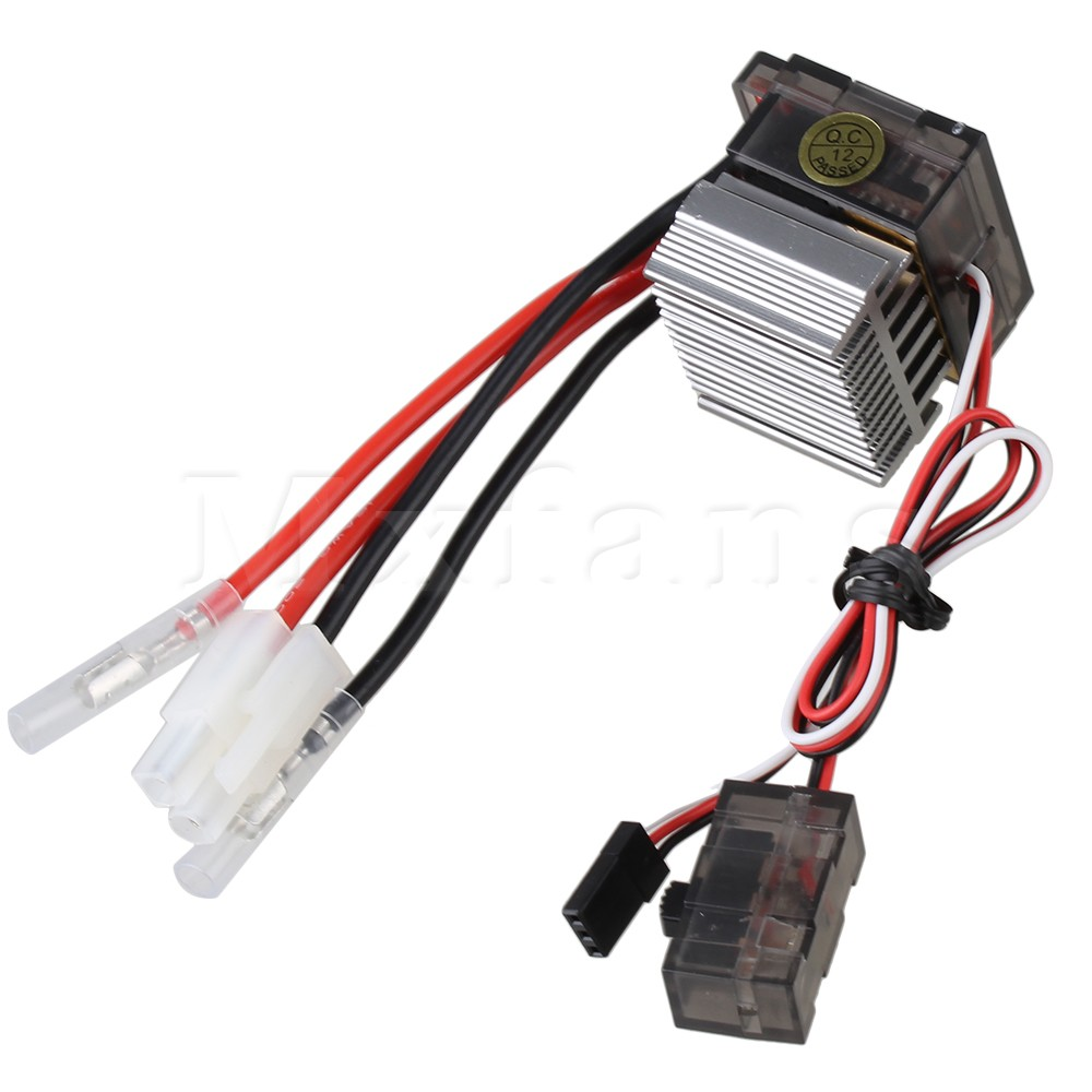 Mxfans 03018 320A Brushed Brush Speed Controller ESC for HSP RC 1:10 Off Road Car