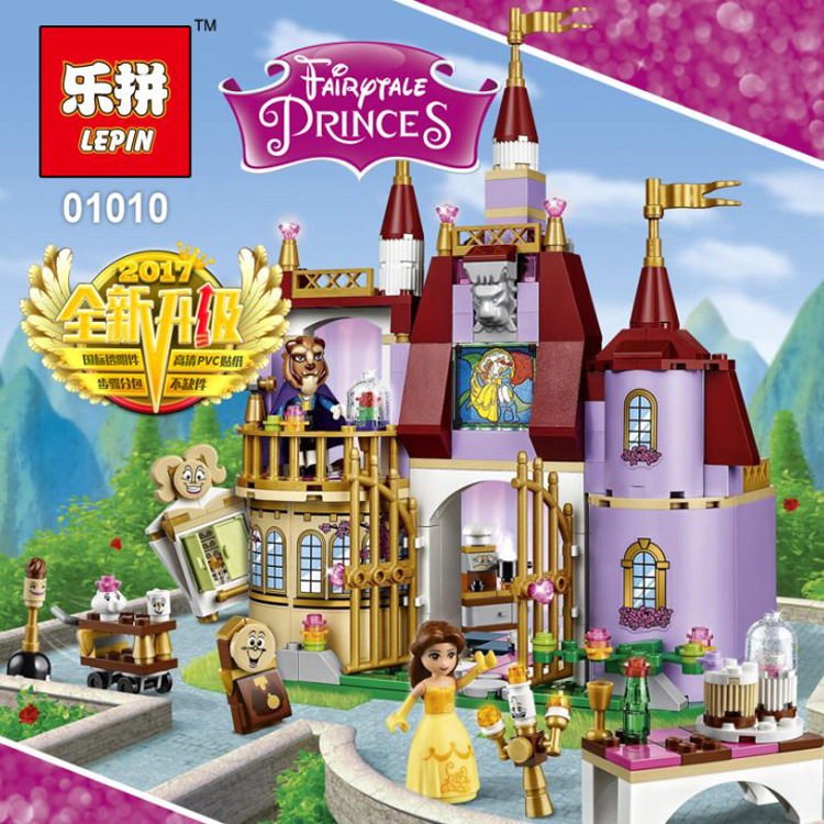 Lepin Educational Building Blocks Toys For Children Gifts Castle Girls Friends Prince Mermaid Beauty Beast Snow Elsa Anna hot sale 1000g dynamic amazing diy educational toys no mess indoor magic play sand children toys mars space sand