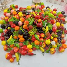 10. peças de reposição de frutas e legumes artificiais para peças de criancas