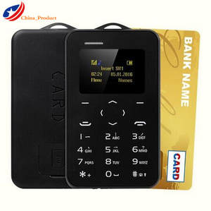 Gift AEKU C6 Student Children Pregnant Version Credit Card Mobile Phone with Russian