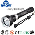New Underwater  Diving Flashlight Torch XML T6  LED Light Lamp Waterproof Super Bright LED Diving Flashlight