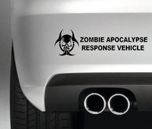 Car Styling for ZOMBIE APOCALYPSE RESPONSE VEHICLE LOGO DRIFT BUMPER STICKER VAN JDM DECAL DRIFT DUB JAP GRAPHIC(China)