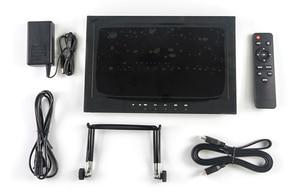 Guardian 11,6 дюймов IPS сплав FPV монитор видео вход VGA + HDMI + AV1 + AV2 + USB + гарнитура USB: Поддержка воспроизведения видео в формате HD, воспроизведение MP3